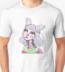 Sad Clown Girl Unisex T-Shirt