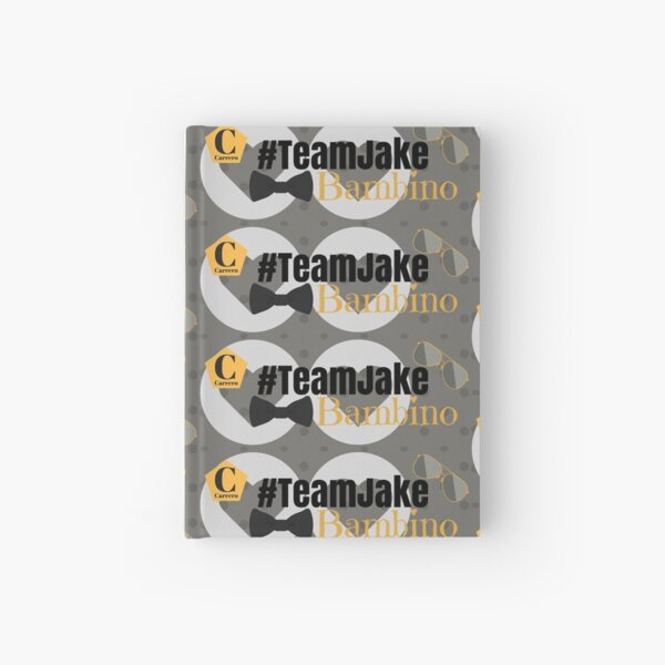 Team Jake Grey Mug Hardcover Journal