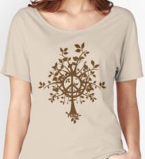 The Peace Tree Women's Relaxed Fit T-Shirt