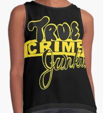 True Crime Junkie Contrast Tank