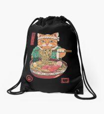 Neko Ramen Drawstring Bag