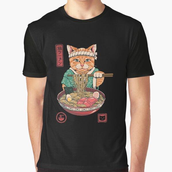 Neko Ramen Graphic T-Shirt