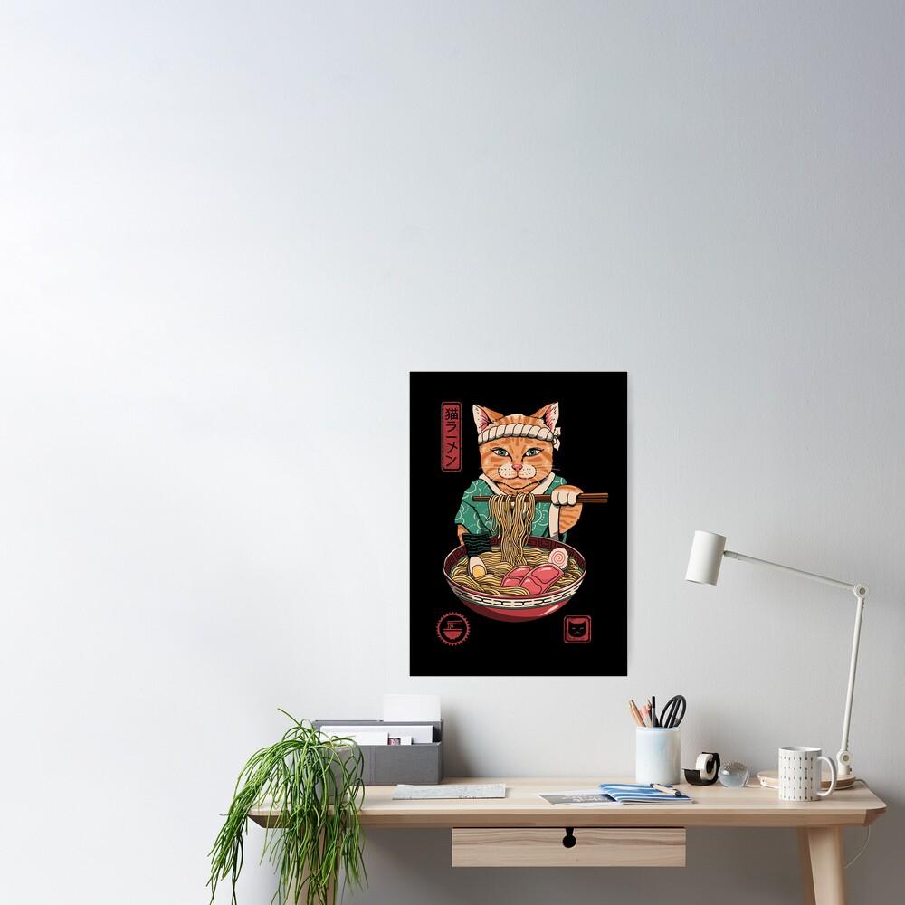 Neko Ramen Poster