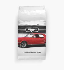 1965 Ford Mustang Coupe Duvet Cover