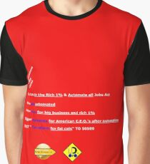 Tax Cuts & Jobs Act Graphic T-Shirt
