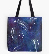Wind and Snow Tote Bag