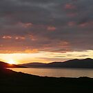 Midsummer Sunset on Harris  by Adamdabs