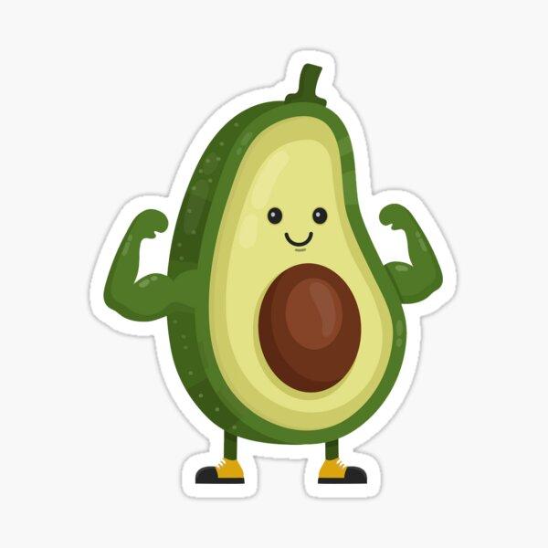 Fitness Avocado  Sticker