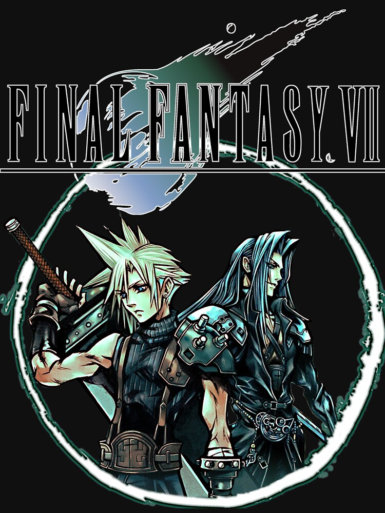 Final Fantasy VII - Cloud & Sephiroth by RetroGamezzz