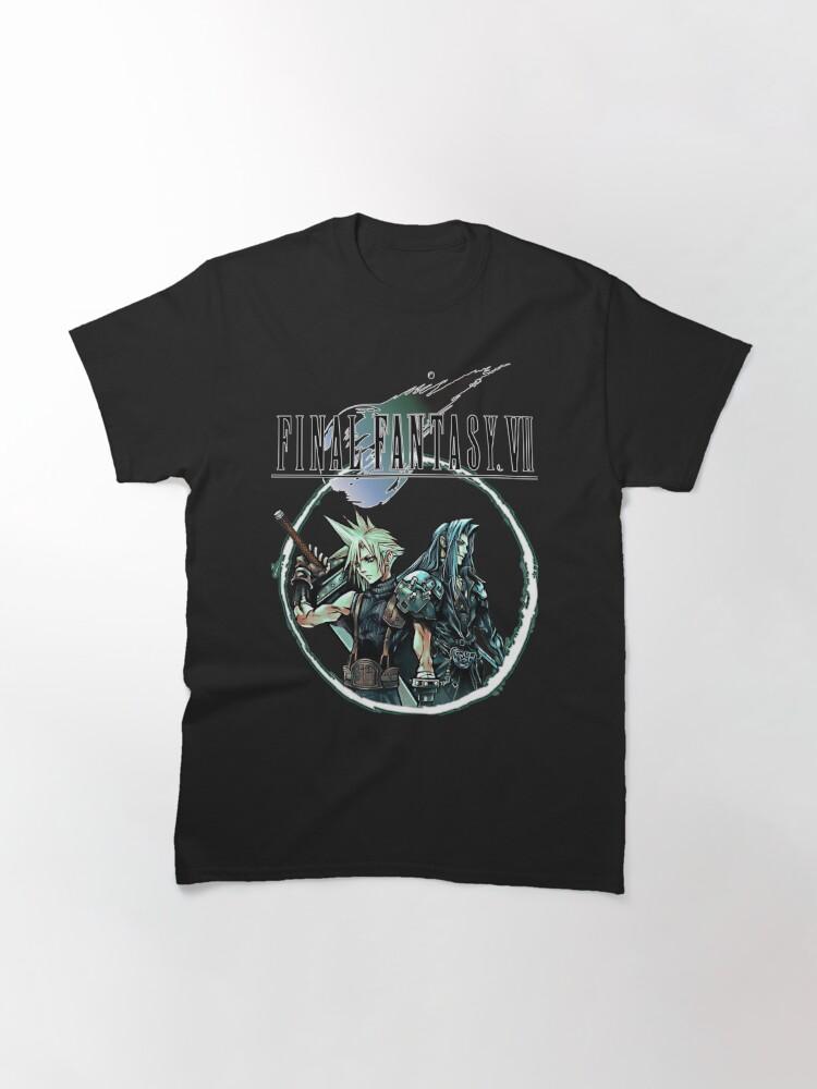 Alternate view of Final Fantasy VII - Cloud & Sephiroth Classic T-Shirt