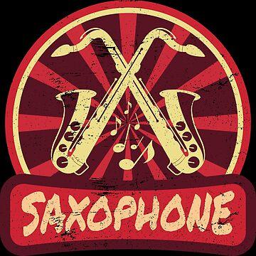 Saxophone Propaganda | Musical instrument jazz music by anziehend