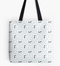 Cool Holly Pattern Tote Bag