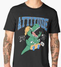 Cool Dinosaur, Attitude Men's Premium T-Shirt