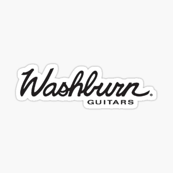 Washburn Guitars Logo (full) Sticker