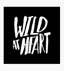 Wild at Heart x Black and White Photographic Print