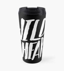 Wild at Heart x Black and White Travel Mug