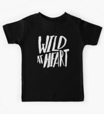 Wild at Heart x Black and White Kids Tee