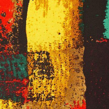 Colorful textile by fourretout