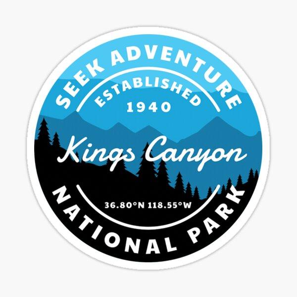 Kings Canyon National Park Sticker Sticker