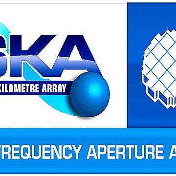 Mid Frequency Aperture Array Logo by Quatrosales