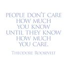 People don't care by Randy Coffey