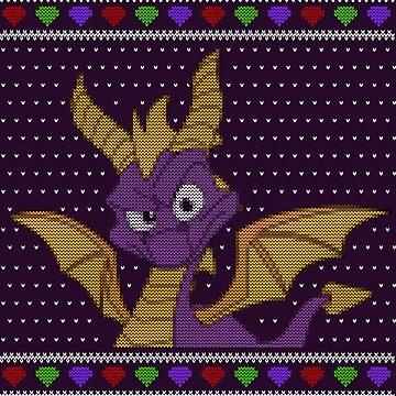 Spyro - Ugly sweater by Summermint