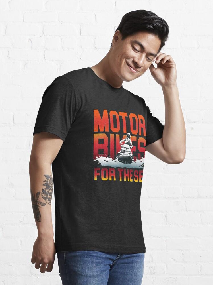 Alternative Ansicht von Motorbikes For The Sea - Jet Ski Action Gift Essential T-Shirt