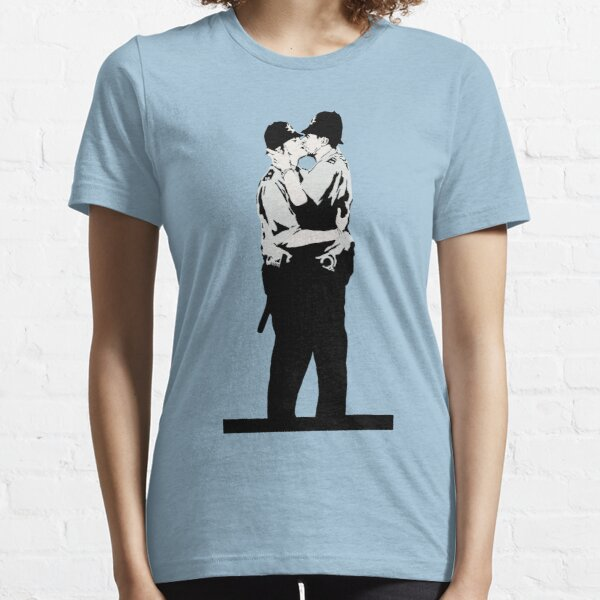 Kissing Coppers Essential T-Shirt