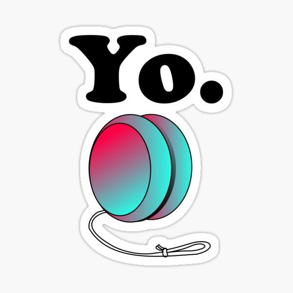 Yo. Sticker