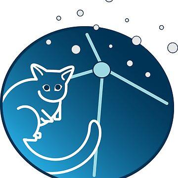Polarisation Sky Survey of the Universe's Magnetism Logo by Quatrosales