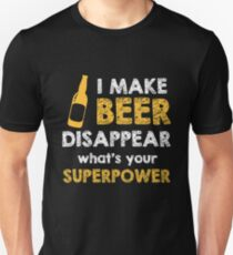 I Make Beer Disappear Slim Fit T-Shirt