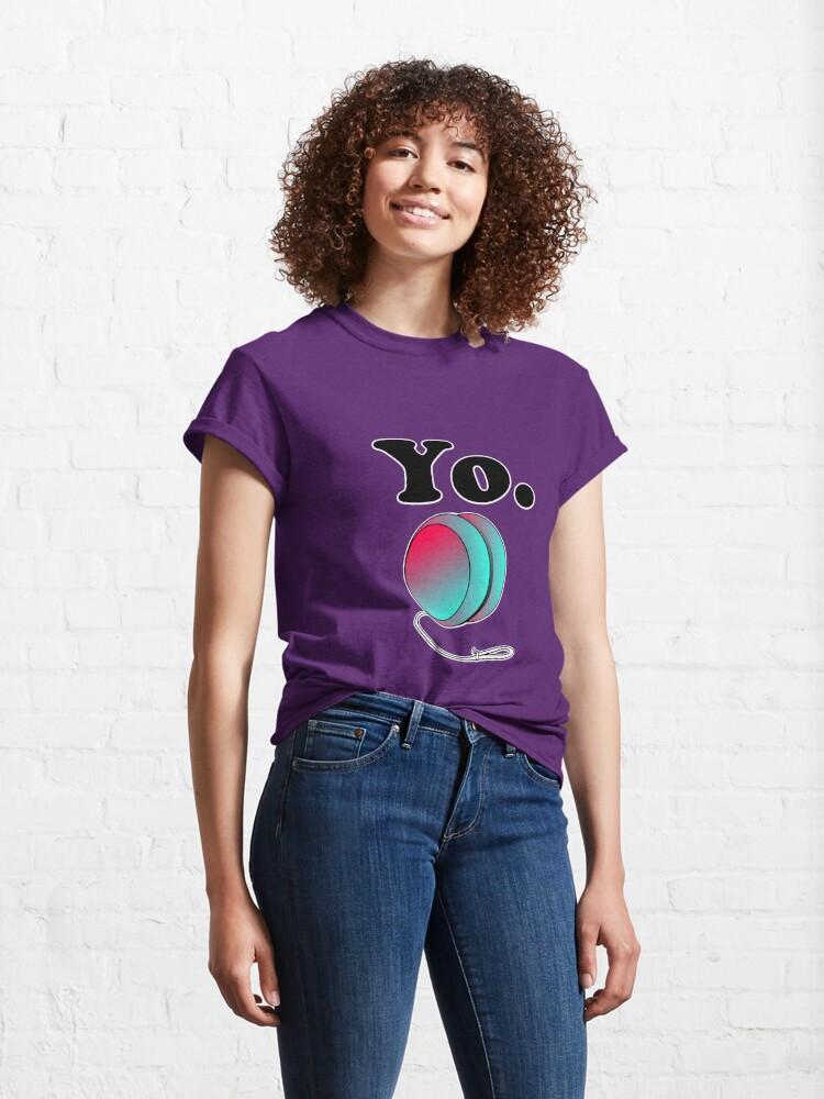 Alternate view of Yo. Classic T-Shirt