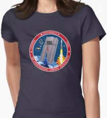 5th Dimensional Library Expedition Womens Fitted T-Shirt