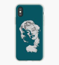 marilyn monroe portrait iPhone Case