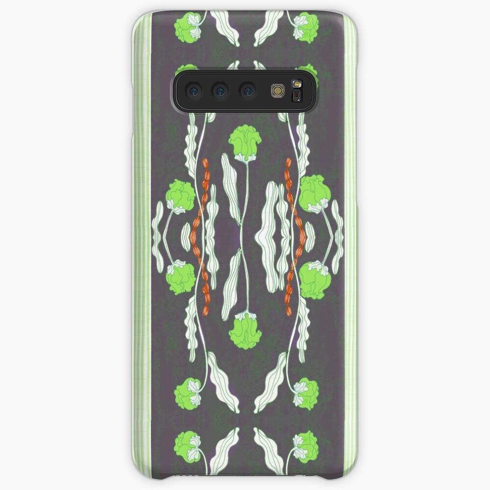 Green  flower patter  Case & Skin for Samsung Galaxy