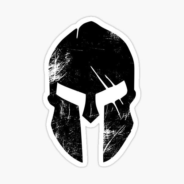 Spartan Helmet Sticker