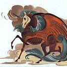 Red Horse by Unita-N