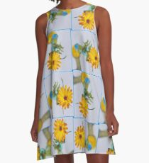 Marigold Ballerina A-Line Dress