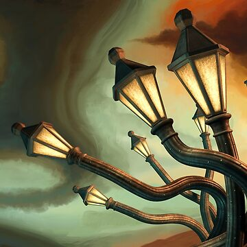 Drunk Streetlamps by RemusCB