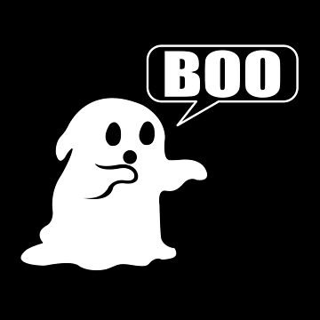 Ghost Boo Disapproval by chriswilson111