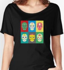 Dia de los muertos day of the dead Women's Relaxed Fit T-Shirt