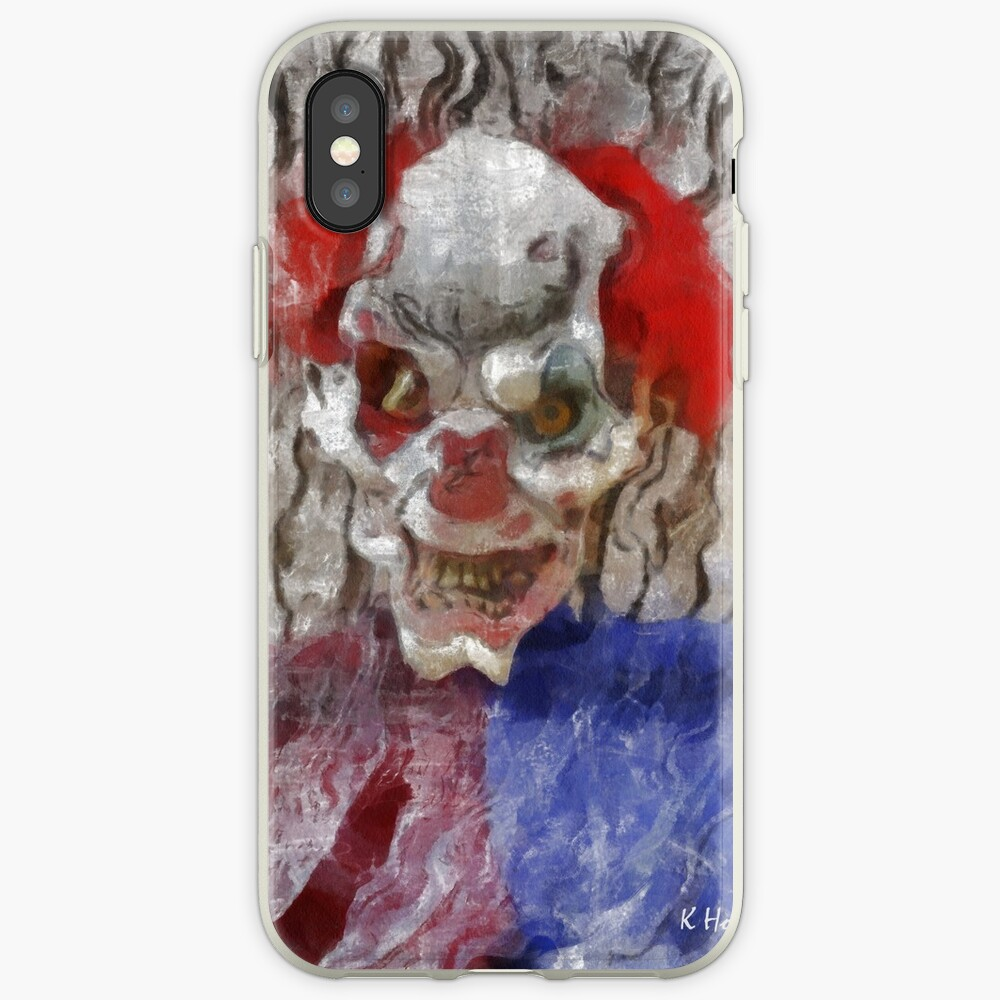 Surreal Clown iPhone Cases & Covers