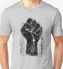 Dirt Fist Grunge Distressed Style Unisex T-Shirt