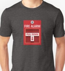 Fire Alarm Unisex T-Shirt