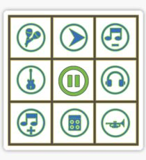 Music Icons Sticker