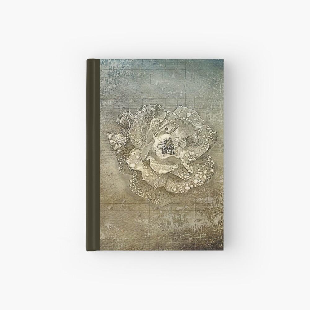 Nasse Rose Notizbuch