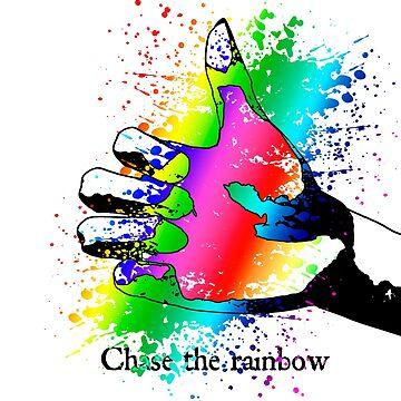 Chase the rainbow by fotokatt