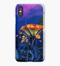 Psychadellic Mushrooms of the Shivering Isles iPhone Case