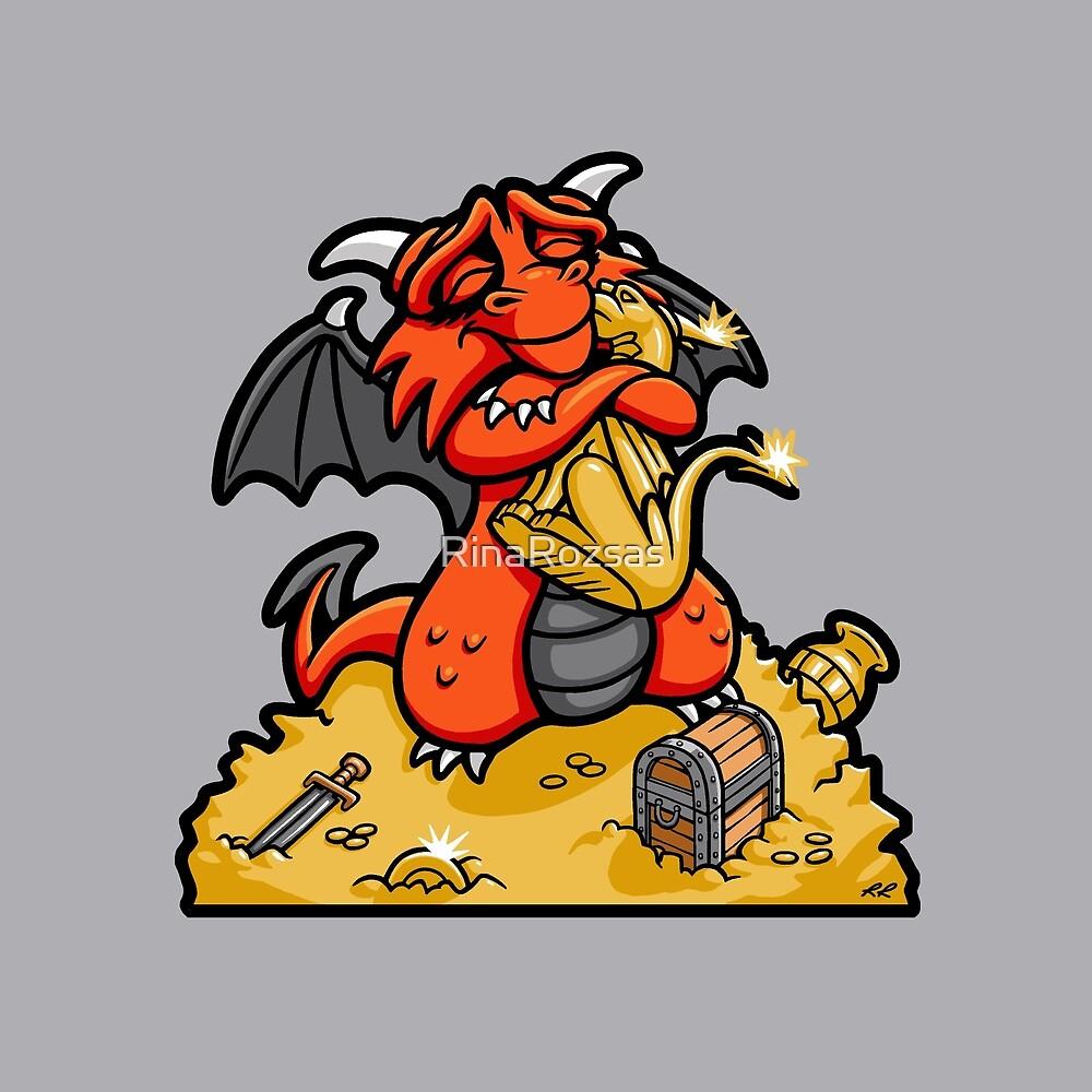 Dmitri the Dragon Loves by RinaRozsas