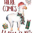 « Voici le Lama Claus » par anabellstar